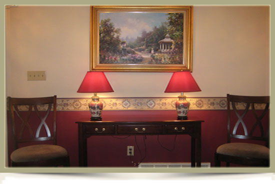 Zabor Funeral Home Facilities